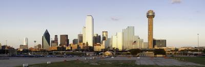 Dallas City Skyline and the Reunion Tower, Texas, United States of America, North America by Gavin Hellier