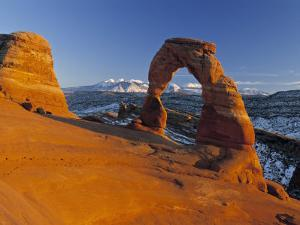 Delicate Arch, Arches Np, Utah, USA by Gavin Hellier