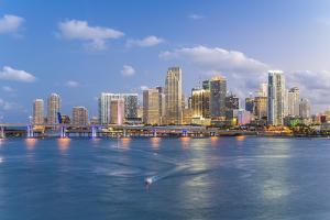 Downtown Miami Skyline, Miami, Florida, United States of America, North America by Gavin Hellier