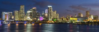 Downtown Miami Skyline, Miami, Florida, USA, North America by Gavin Hellier