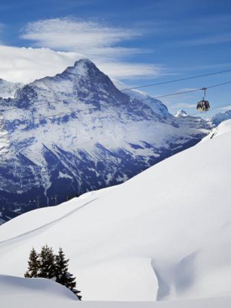 Eiger, Grindelwald, Jungfrau Region, Bernese Oberland, Switzerland by Gavin Hellier