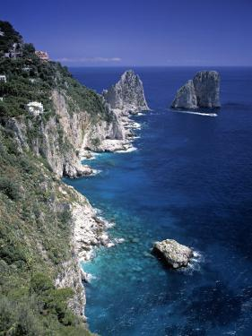 Faraglioni Rocks, Capri, Bay of Naples, Itlay by Gavin Hellier