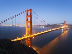 Golden Gate Bridge, San Francisco, California, United States of America, North America by Gavin Hellier