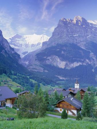 Grindelwald and the North Face of the Eiger, Jungfrau Region, Switzerland by Gavin Hellier