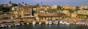 Harbour, Byblos, Nr. Beirut, Beirut, Lebanon by Gavin Hellier