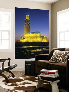 Hassan Ii Mosque, Casablanca, Morocco by Gavin Hellier