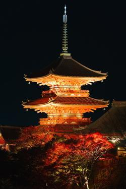 Kiyomizu-Dera Temple by Gavin Hellier