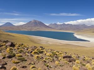Los Flamencos National Reserve, Atacama Desert, Antofagasta Region, Norte Grande, Chile by Gavin Hellier
