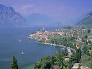 Malcesine, Lago Di Garda (Lake Garda), Italian Lakes, Trentino-Alto Adige, Italy, Europe by Gavin Hellier