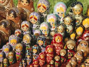 Matryoschka (Russian Dolls), Moscow, Russia by Gavin Hellier