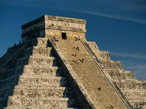 Mayan Ruins, Chichen Itza, Unesco World Heritage Site, Yucatan, Mexico, Central America by Gavin Hellier