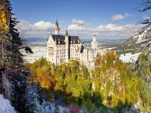 Neuschwanstein Castle, Bavaria, Germany, Europe by Gavin Hellier