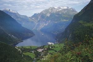 Norway, Western Fjords, Geiranger Fjord by Gavin Hellier