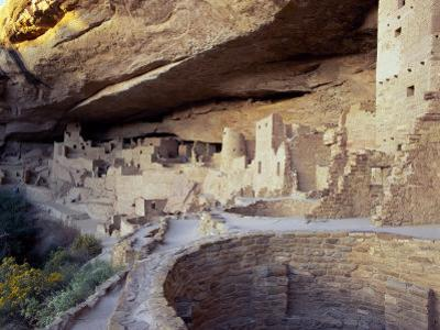 Old Cliff Dwellings and Cliff Palace in the Mesa Verde National Park, Colorado, USA by Gavin Hellier