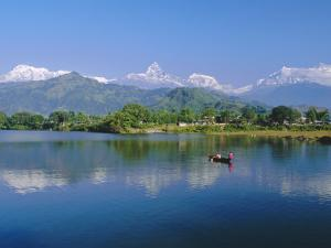 Phewatal Lake, Annapurna Region, Pokhara, Nepal by Gavin Hellier