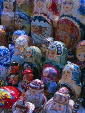 Russian Craft Dolls for Sale, Moscow, Russia, Europe by Gavin Hellier