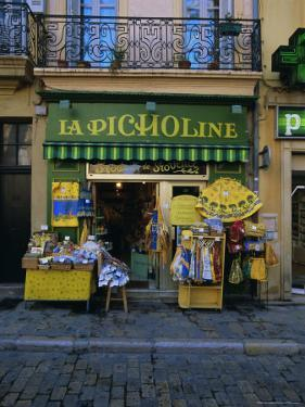 Small Shop, Aix-En-Provence, Provence, France, Europe by Gavin Hellier