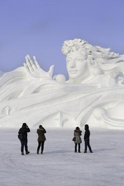 Spectacular Ice Sculptures, Harbin Ice and Snow Festival in Harbin, Heilongjiang Province, China by Gavin Hellier