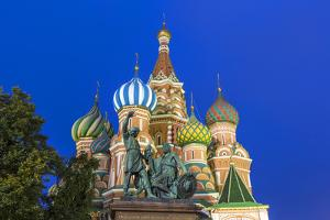 St Basils Cathedral in Red Square, Moscow, Russia by Gavin Hellier