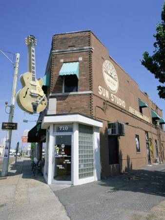 Sun Studios, Memphis, Tennessee, United States of America, North America by Gavin Hellier