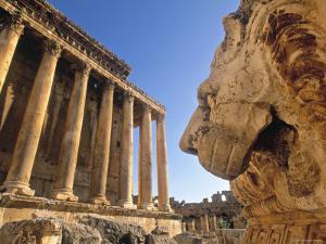 Temple of Bacchus, Baalbek, Bekaa Valley, Lebanon by Gavin Hellier