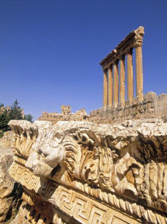 Temple of Jupiter, Baalbek, Bekaa Valley, Lebanon by Gavin Hellier