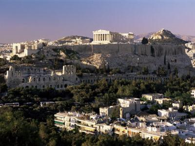 The Acropolis, Parthenon and City Skyline, Athens, Greece by Gavin Hellier