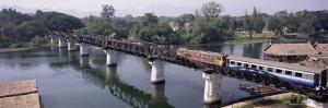 The Death Railway Bridge on the River Kwai (Saphan Mae Nam Khwae Yai), Kanchanaburi, Thailand by Gavin Hellier