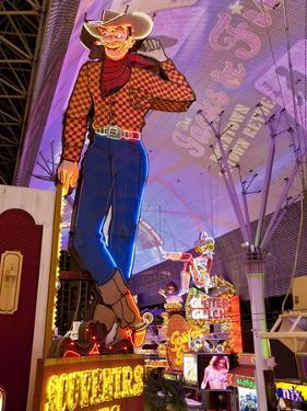 The Freemont Street Experience in Downtown Las Vegas, Las Vegas, Nevada, USA, North America by Gavin Hellier
