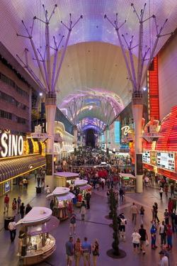 The Fremont Street Experience in Downtown Las Vegas by Gavin Hellier