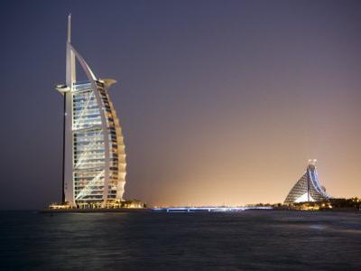 The Iconic Symbol of Dubai, the Burj Al Arab, the World's First Seven Star Hotel, Dubai by Gavin Hellier