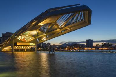 The Museu do Amanha (Museum of Tomorrow) by Santiago Calatrava opened December 2015, Rio de Janeiro by Gavin Hellier