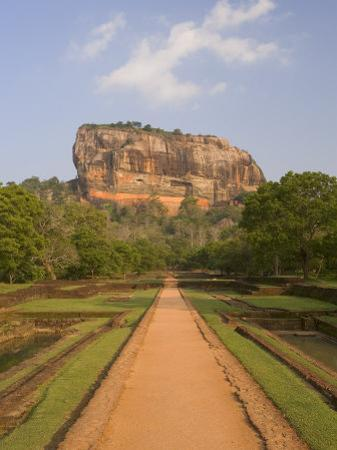 The Rock Fortress of Sigiriya (Lion Rock), Unesco World Heritage Site, Sri Lanka, Asia by Gavin Hellier