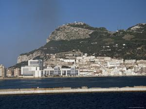 The Rock of Gibraltar, Gibraltar, Viewed from the Mediterranean by Gavin Hellier