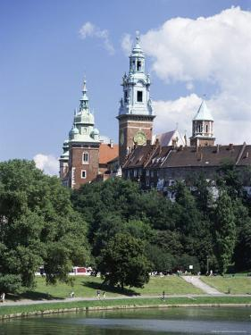 The Wawel Cathedral and Castle, Krakow (Cracow), Unesco World Heritage Site, Poland, Europe by Gavin Hellier