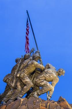 Time Lapse of the Statue of Iwo Jima U S Marine Corps Memorial at Arlington National Cemetery by Gavin Hellier