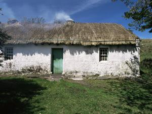 Traditional Thatched Cottage Near Glencolumbkille, County Donegal, Ulster, Eire by Gavin Hellier
