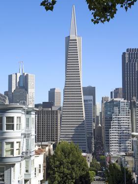 Trans America Building, San Francisco, California, United States of America, North America by Gavin Hellier