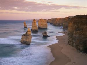 Twelve Apostles Along the Coast on the Great Ocean Road in Victoria, Australia, Pacific by Gavin Hellier