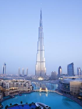 United Arab Emirates (UAE), Dubai, the Burj Khalifa by Gavin Hellier