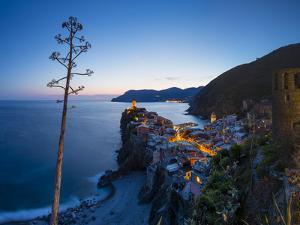 Vernazza, Cinque Terre, UNESCO World Heritage Site, Liguria, Italy, Europe by Gavin Hellier