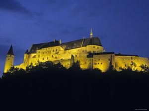 Vianden Castle, Vianden, Luxembourg by Gavin Hellier