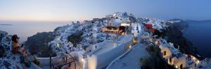 Village of Oia (La), Santorini (Thira), Cyclades Islands, Greece by Gavin Hellier