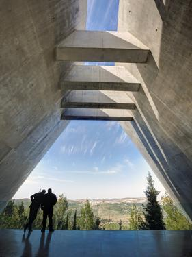 Yad Vashem, Holocaust Museum, Memorial to the Victims in Camps, Jerusalem, Israel, Middle East by Gavin Hellier