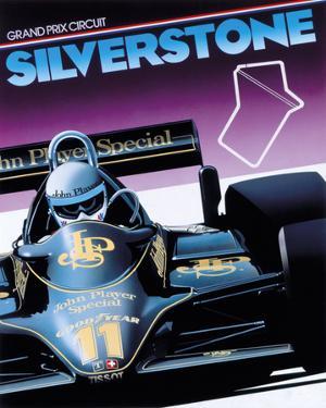 Silverstone by Gavin Macleod