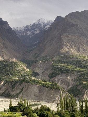 Mountain Scene in the Hindu Kush, Kashmir