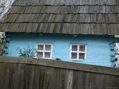 Traditional House in Small Village, Transylvania