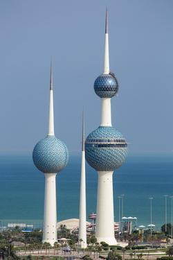The Kuwait Towers, Kuwait City, Kuwait, Middle East by Gavin