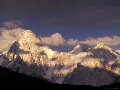 Gasherbrum Group, Kasmir