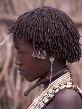 Hamar Tribegirl, Ethiopia by Gavriel Jecan